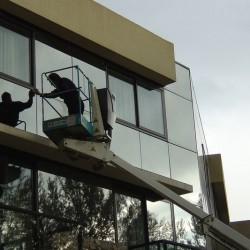 Nettoyage vitres Hotel